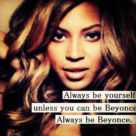 Beyonce motivational image