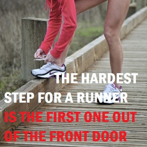 Morning run motivational quote