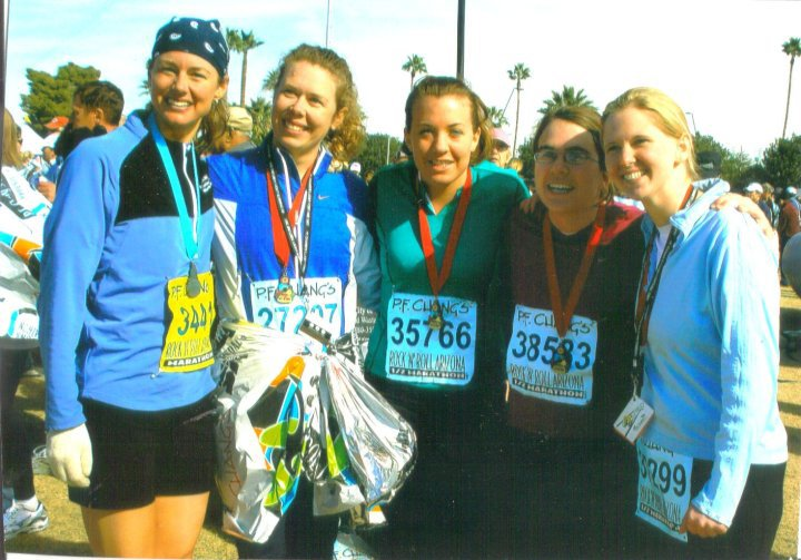 RNRAZ Half Marathon photo with Mari