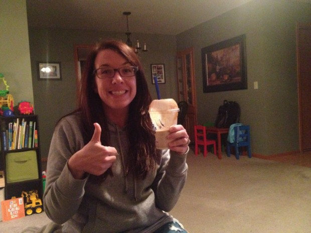 Celebratory concrete mixer from Culvers for hitting my first 50,000 word goal. Woohoo!