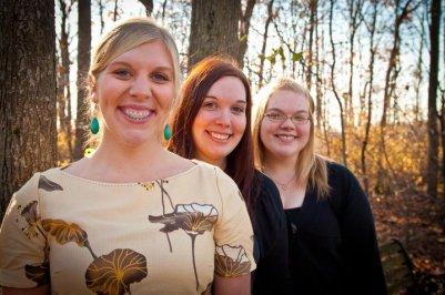 Zache Sisters: Lindsay, Kirsten and Lauren