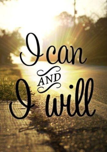 Determination mantra!