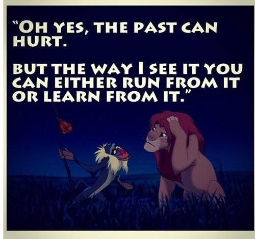 Wise words from Rafiki