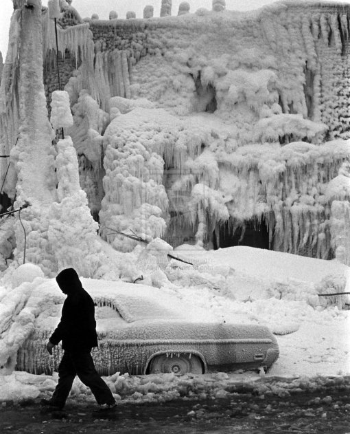 Okay, it's not this bad outside. But doesn't it feel this way? Side note: this is from a blizzard in 1977. Yikes!